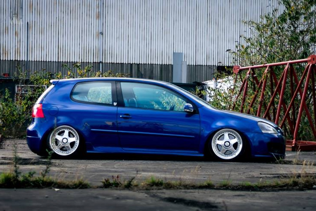 Clark Caughey's Volkswagen Golf GTI MK5 on Airlift Air Suspension